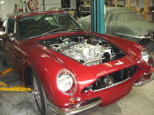car restoration shop