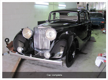 Jaguar MK4 Car Restoration
