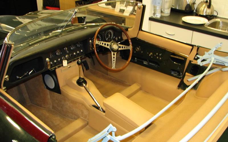 vintage car trim repair